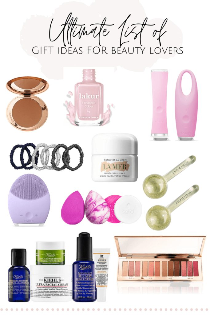 Holiday Gifts for the Beauty Lover   Holiday Gifts for the Beauty Lover   Ho, Ho, Ho-ly cow!! It's that time of year again! Here is my 2020 holiday gift guide for everyone on your Christmas gift list. Find gift ideas for mom, for him, for the beauty lover, and even gift ideas under $50 and for the luxury lover. Seriously, I've covered it all for you! #giftideas #giftideasforher #giftguideforbeautylover #beautyproducts #skincaretools