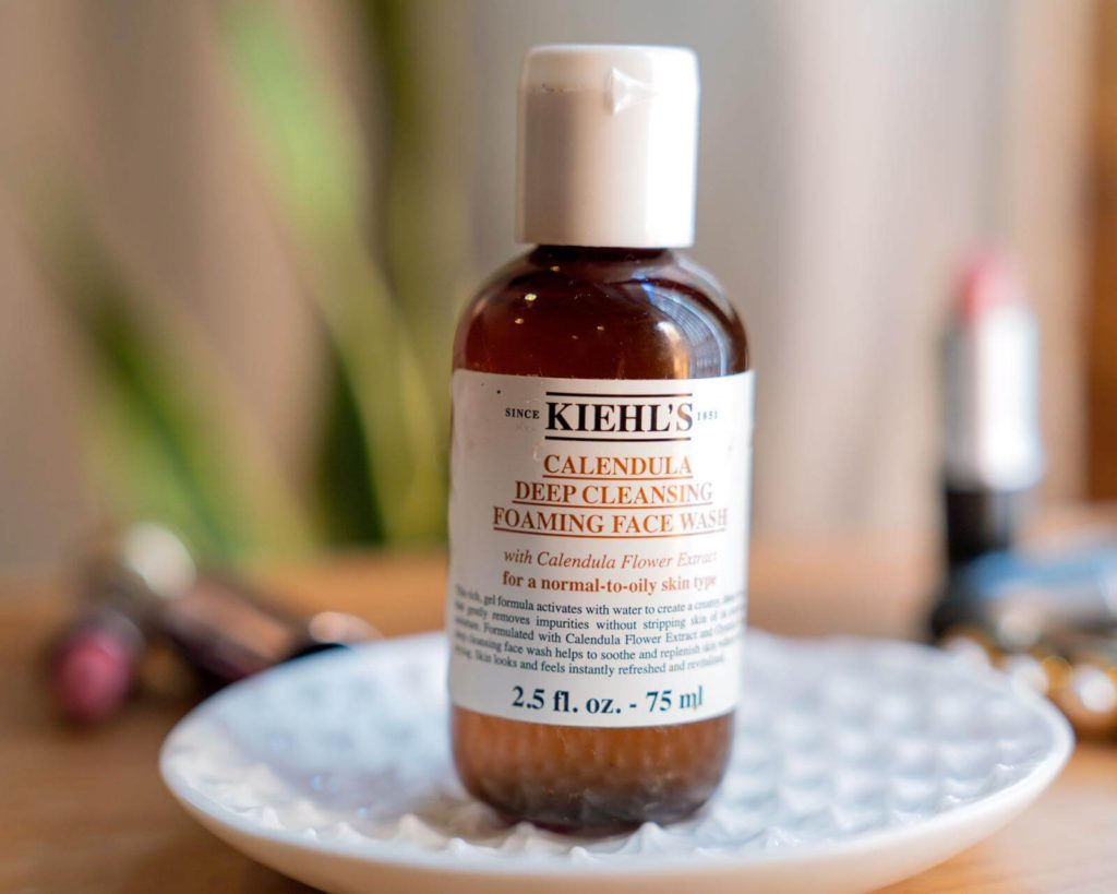 My Favorite Kiehl's Products Calendula Deep Cleansing Foaming Face Wash