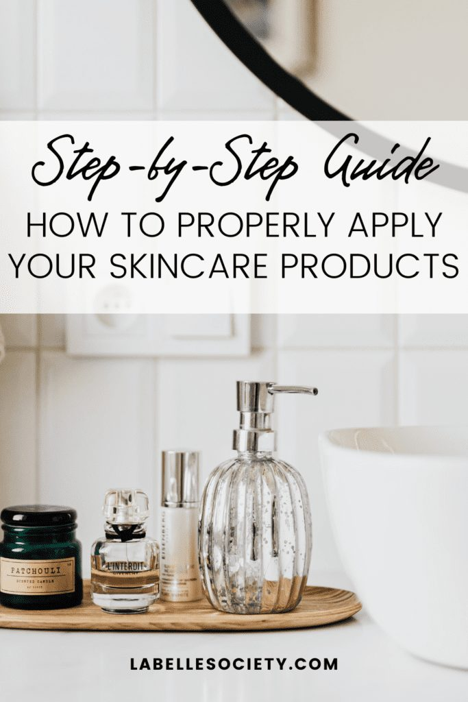 Learn the correct order to apply skin care products for both your day and night beauty care regime. Understand what each product does for your skin and what are their benefits. Download a skin care printable so you always remember the correct order to apply your products and make the most out of their benefits.