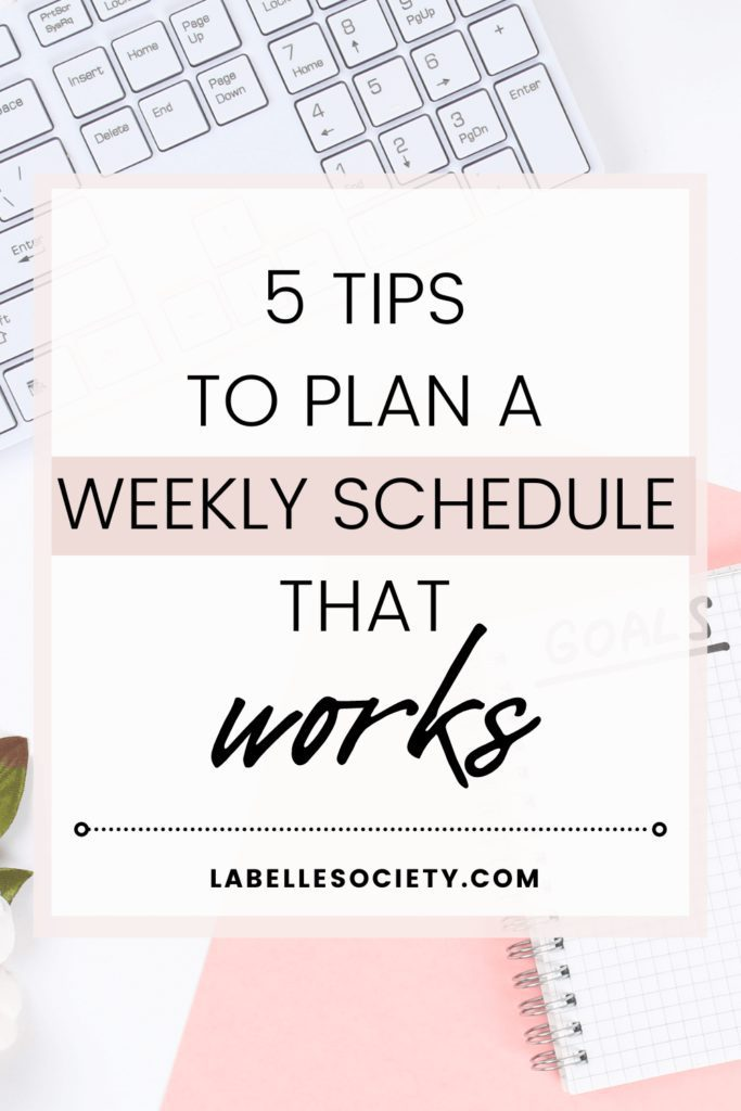 Want some epic tips on how to plan a weekly schedule for success? Get weekly schedule ideas for productivity and focus. Know what tasks to focus on and how to organize your time to cross out everything from your to-do-list.