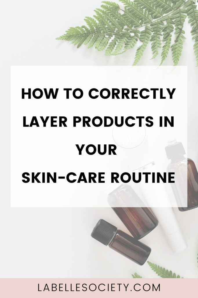 The correct order to apply skin care products. Learn the correct order to apply skin care products for both your day and night beauty care regime. Understand what each product does for your skin and what are their benefits. Download a skin care printable so you always remember the correct order to apply your products and make the most out of their benefits.