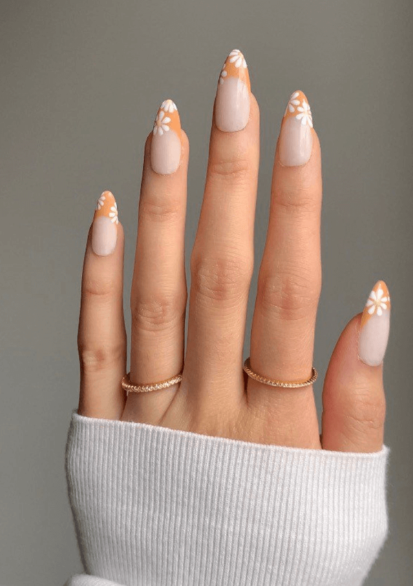 35+ Cutest Colored French Tips Nail Art Ideas To Copy
