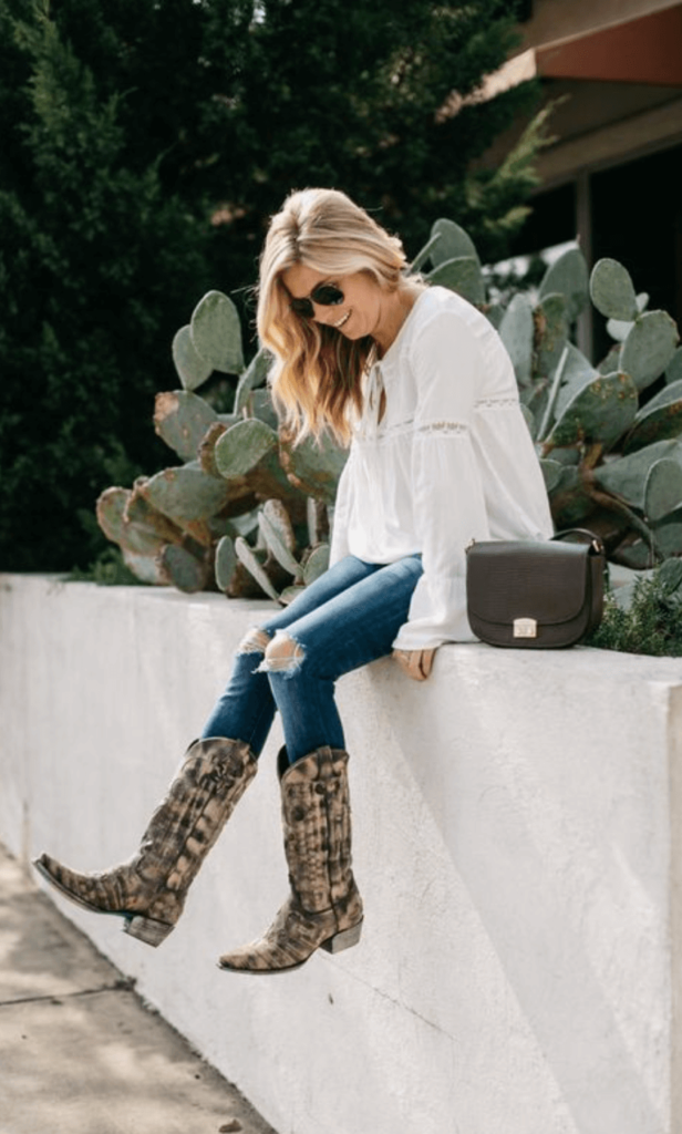 Cowboy Boots Outfit inspiration