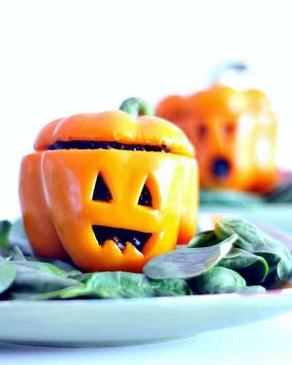 Healthy Halloween Snack Ideas Carrot Ginger Quinoa Pepper Jacks