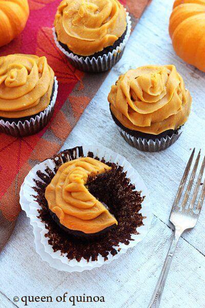 Healthy Halloween Snack Ideasn Chocolate Cupcakes