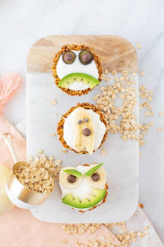Healthy Halloween Snack Ideasps with Yogurt