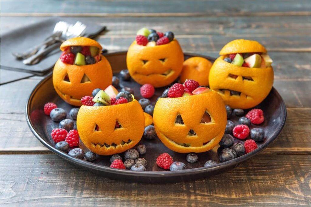 Healthy Halloween Snack Ideas Jack O'Oranges