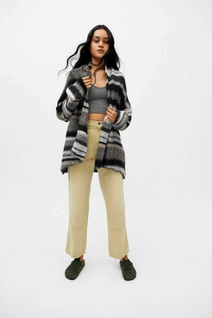 40+ Stylish Work From Home Outfit Ideas So You Always Look Cool, such as this BDG Frankie Cardigan